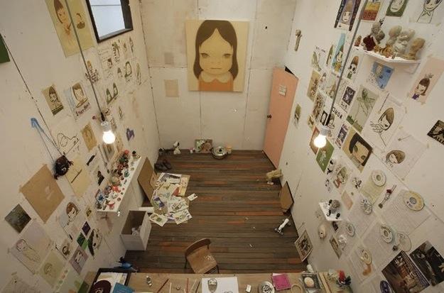 Yoshitomo Nara, artist.