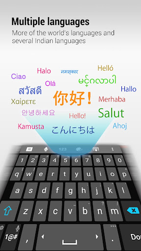 ZenUI Keyboard – Emoji, Theme screenshot 2
