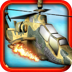 Army Helicopter Shooting Game Icon