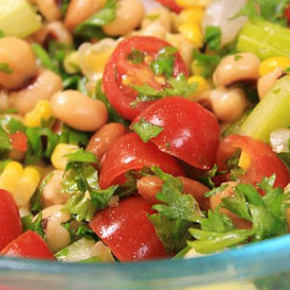 Simple Healthy Salad With A Lot Of Punch