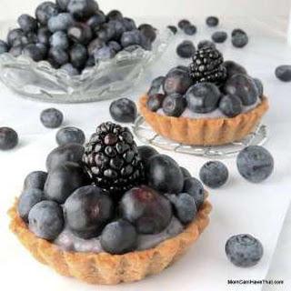 Bluesy Blueberry Tarts.