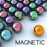 Magnetic balls bubble shoot Icon