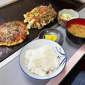 【炭水化物メシ】お好み焼き定食を超越した「お好み焼きそば定食」を堪能 / 炭水化物の神域を刮目せよ