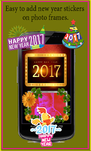 New Year Photo Frames 2017 screenshot 3