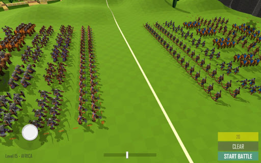 Medieval Battle Simulator: Sandbox Strategy Game 1.4 screenshots 1