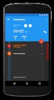 Screenshot of Swipetimes Time Tracker