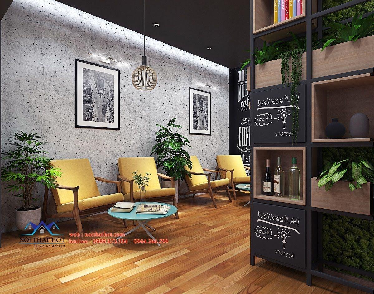 thiết kế quán cafe kết hợp shop thời trang 4