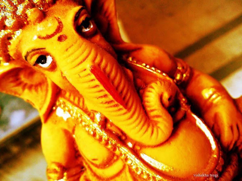 Photo: elephant god.