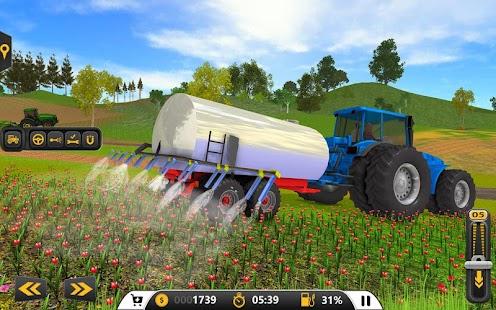 3D simulátor traktoru pro zemědělství - náhled