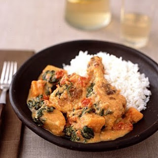 Weight Watchers Braised Chicken with Peanut Sauce