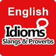 English Idioms Slangs & Proverbs Dictionary