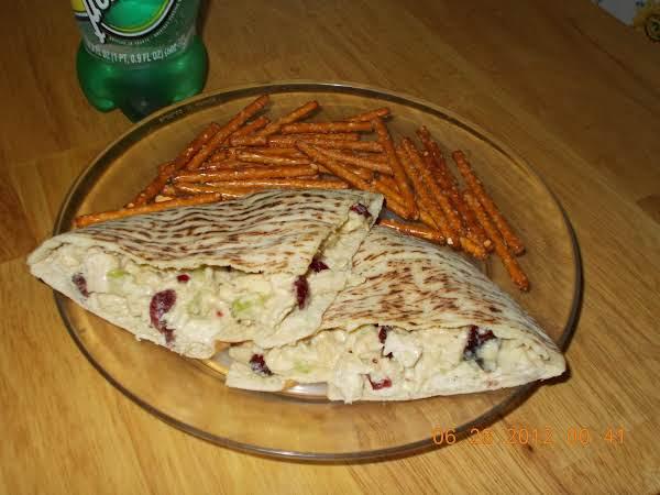 Chicken & Craisin Salad Sandwich
