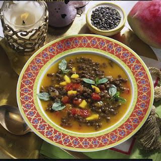 Spicy Lentil Soup.