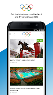 The Olympics - Official App Screenshot