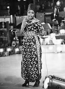 Miriam Makeba on stage