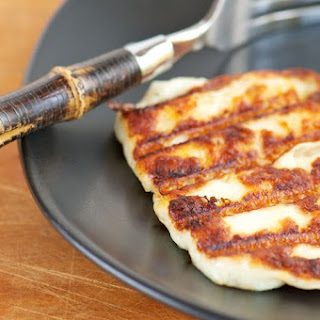 3-Minute Fried Halloumi Cheese Meze.