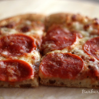 Whole Wheat Pizza Dough and Homemade Pizza Sauce