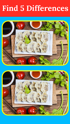 Find The Differences - Spot The Differences - Food 2.3.1 screenshots 2