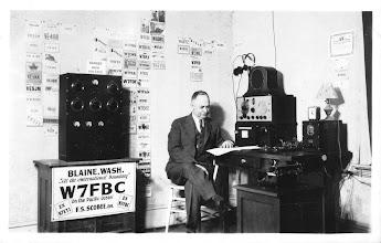 Photo: W7FBC  F. S. Scobee 1937