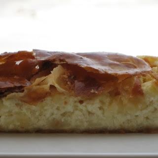Greek Savory Cheese Pie.