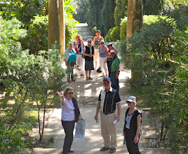 Photo: Strolling around the gardens at Rayol Canadel