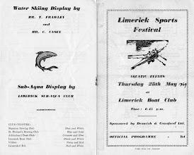 Photo: Limerick Sports Festival, May '64