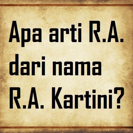 R.A. Kartini Quiz