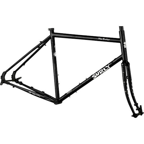 "Surly Disc Trucker Frameset - 26"", Hi-Viz Black"