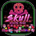 3D Skull Gravity Keyboard