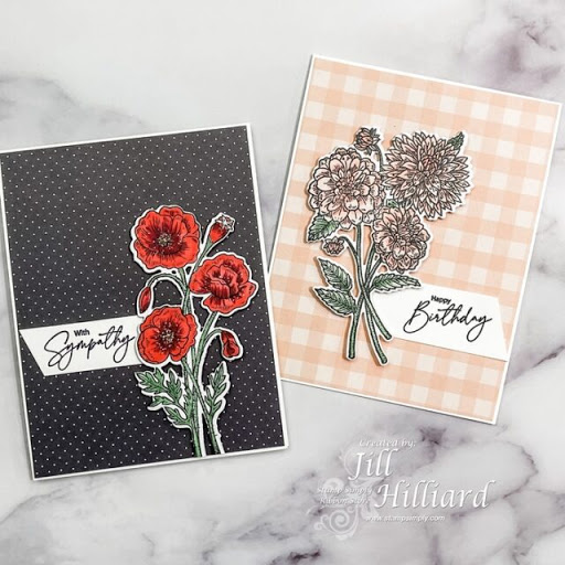 NEW!  Beautifully Clean & Simple Florals – by Jill Hilliard