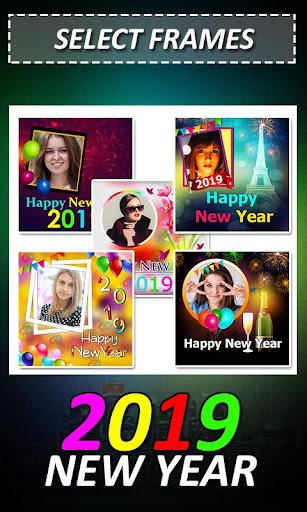 New Year Photo Frame 2019 1.0 screenshots 1