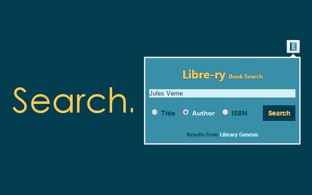Libre-ry Book Search