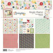 Simple Stories Simple Sets Collection Kit  12X12 - Springtime UTGÅENDE