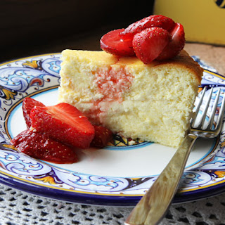 Ricotta Mascarpone Cheesecake.