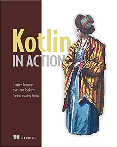 Kotlin in Action book cover