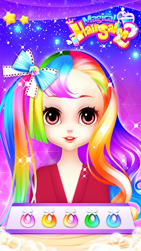 Magical Hair Salon 2: Girl Makeover & Dress up  trampa 3