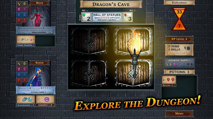 One Deck Dungeon Screenshot Image