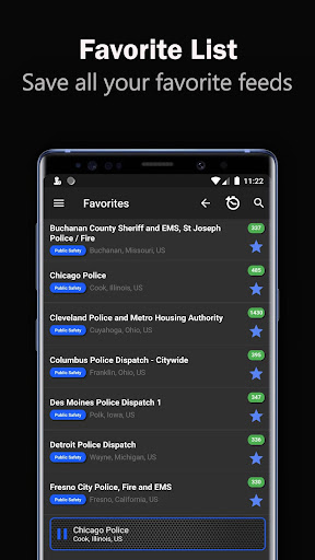 Police Scanner Radio 2.0 Pro