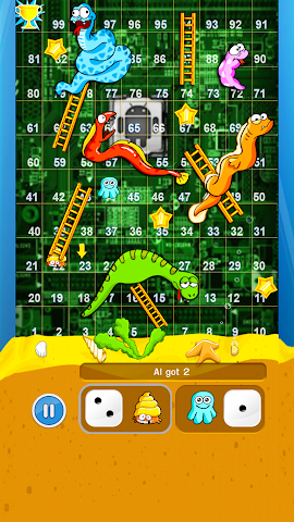 android Snakes And Ladders Screenshot 2