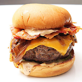 The Ultimate Bacon Cheeseburgers.