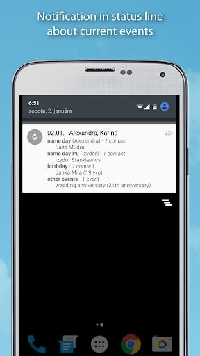 Name days Pro  screenshots 5