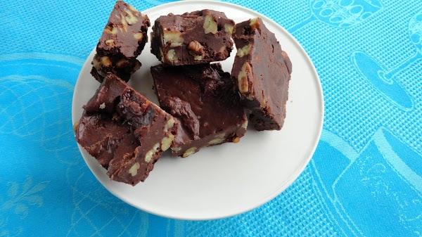 Chocolate Pecan Coffee Fudge Recipe