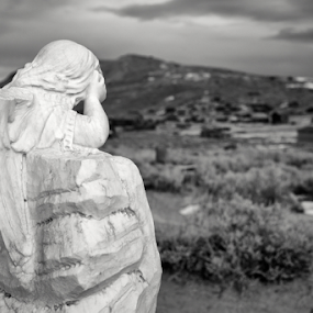 by Michael Keel - Black & White Objects & Still Life ( ghosts, cemetery, bodie, angels )