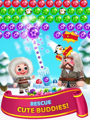 Flower Games - Bubble Shooter 3.7 screenshots 11
