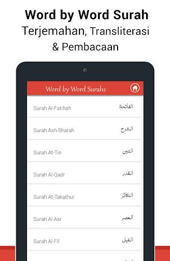 Al Quran Bahasa Indonesia MP3 screenshot 20