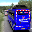 City Coach Bus Driving Sim : Bus Games 2020 icon