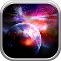 Galactic Space Live Wallpapers icon