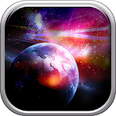Galactic Space Live Wallpapers