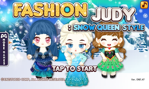 Fashion Judy: Snow Queen style