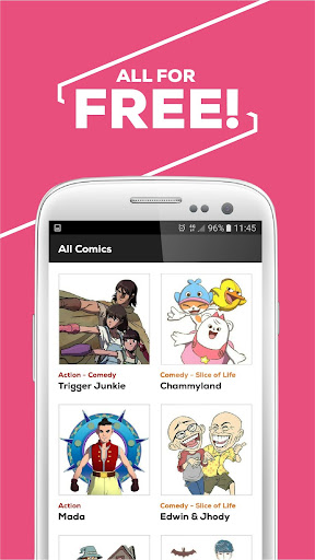 CIAYO Comics - Free Webtoon Comics 2.1.1.27 screenshots 8